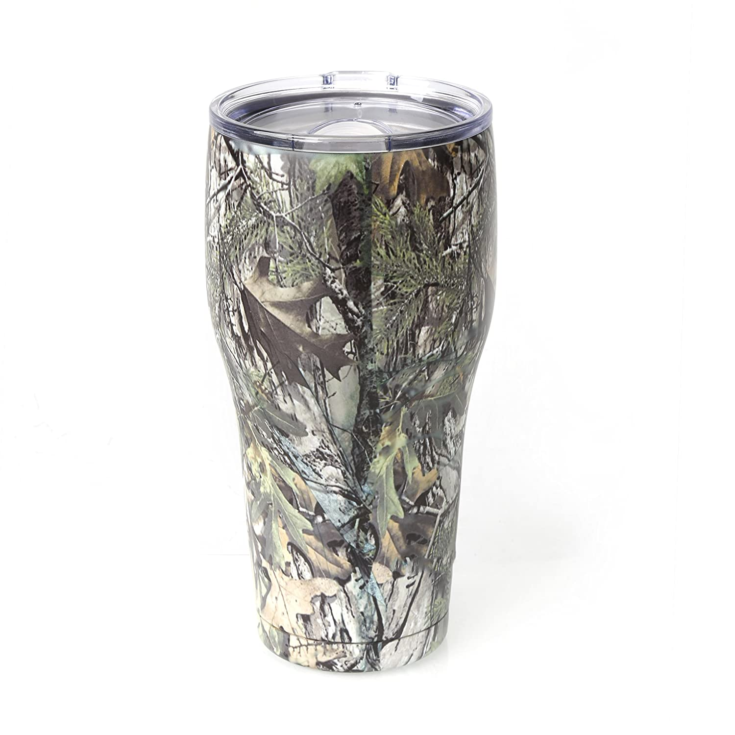 Amazon tahoe trails 20 oz stainless steel tumbler vacuum amazon tahoe trails 20 oz stainless steel tumbler vacuum insulated double wall with lid green camouflage home kitchen reviewsmspy