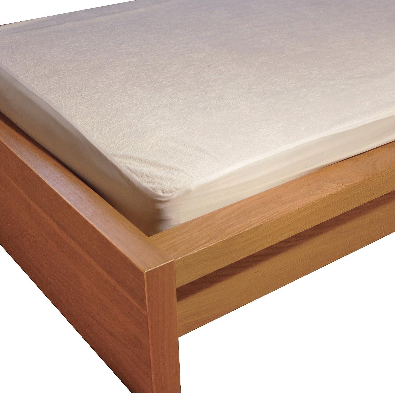 Aidapt VM850 – Salvamaterasso impermeabile antiallergico, per letto singolo, colore: bianco Prezzi offerte