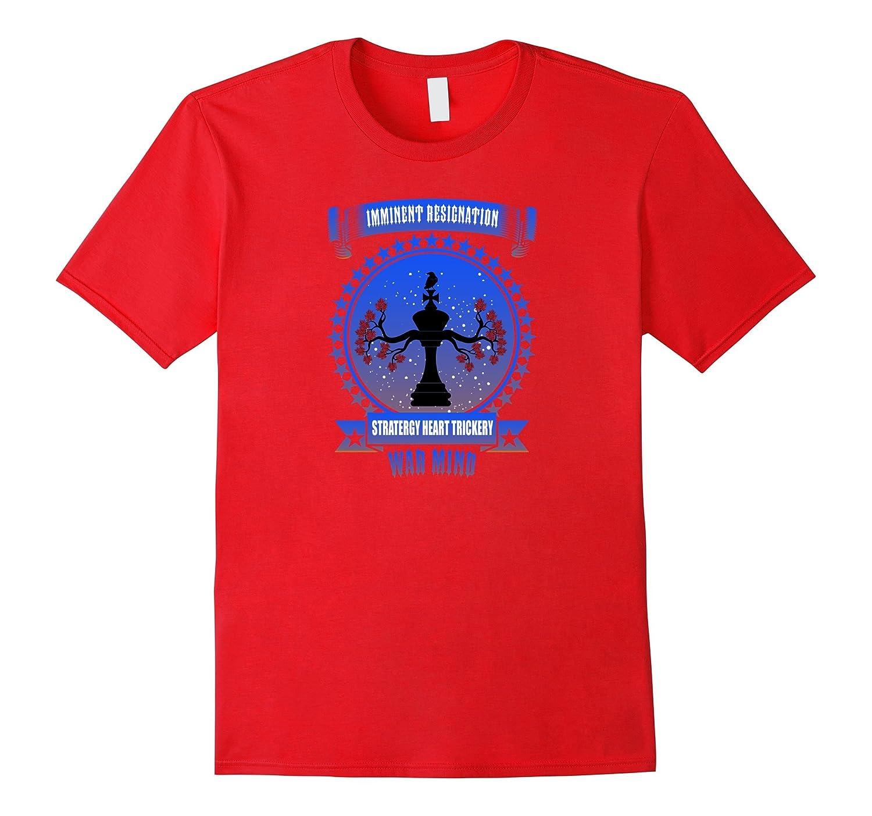chess graphic t-shirt king chess war mind tee-Vaci