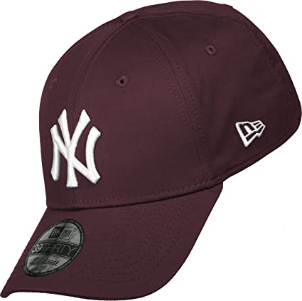 2942d24203ea7 New Era Mlb Basic Ny Yankees 39Thirty Stretch Back Scarlet - Casquette de  Baseball - Homme: Amazon.fr: Vêtements et accessoires
