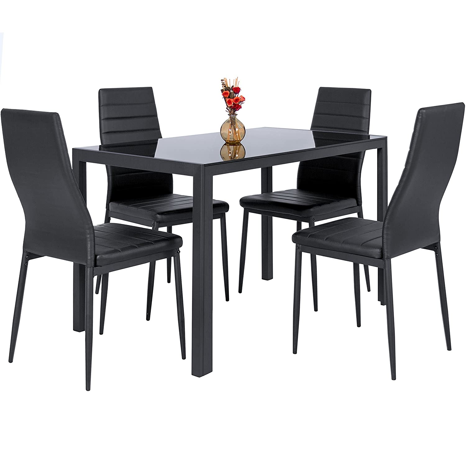 Kitchen Table Sets Under 300 Amazoncom Table Chair Sets Home Kitchen