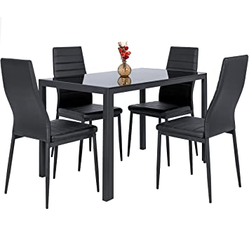 Amazon - Best Choice Products  Piece Kitchen Dining Table Set