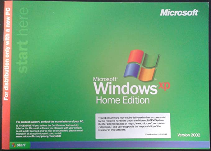windows xp home edition ulcpc