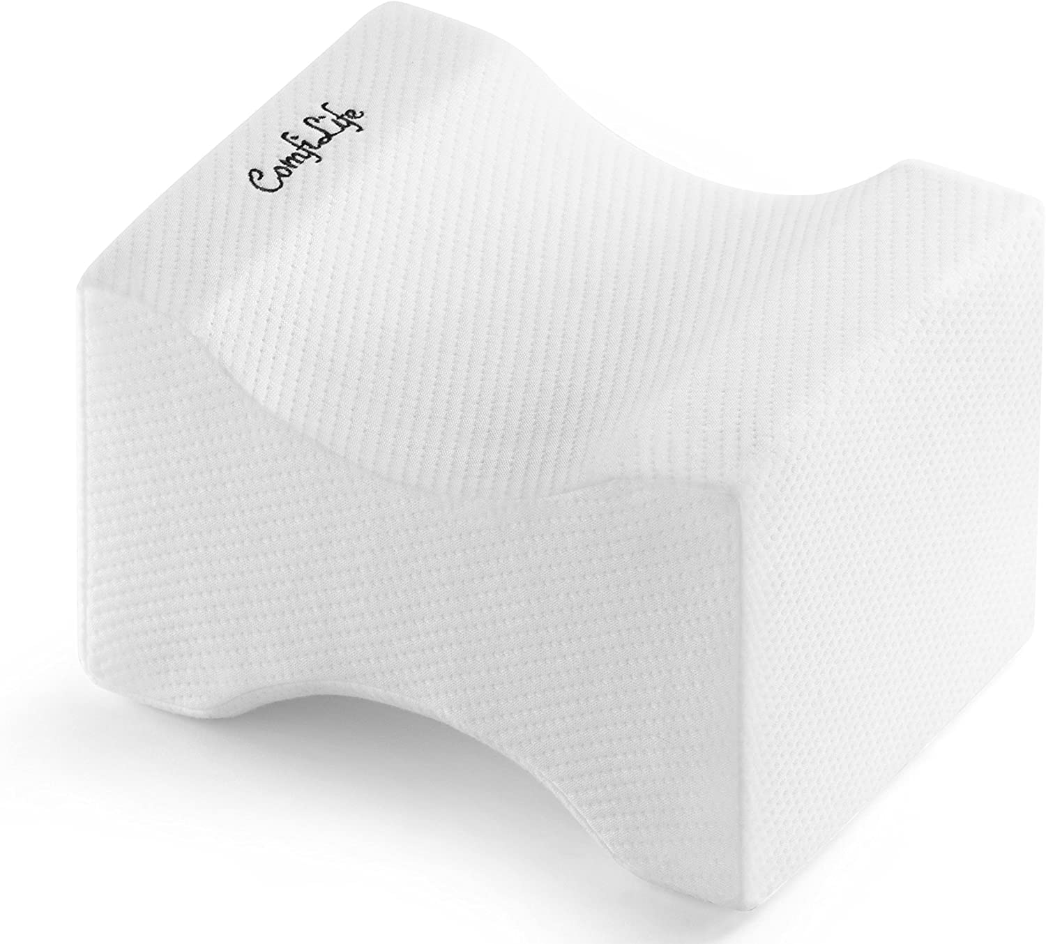 best pillow for knee pain and side sleepers. Knee pain pillow review for side sleepers.