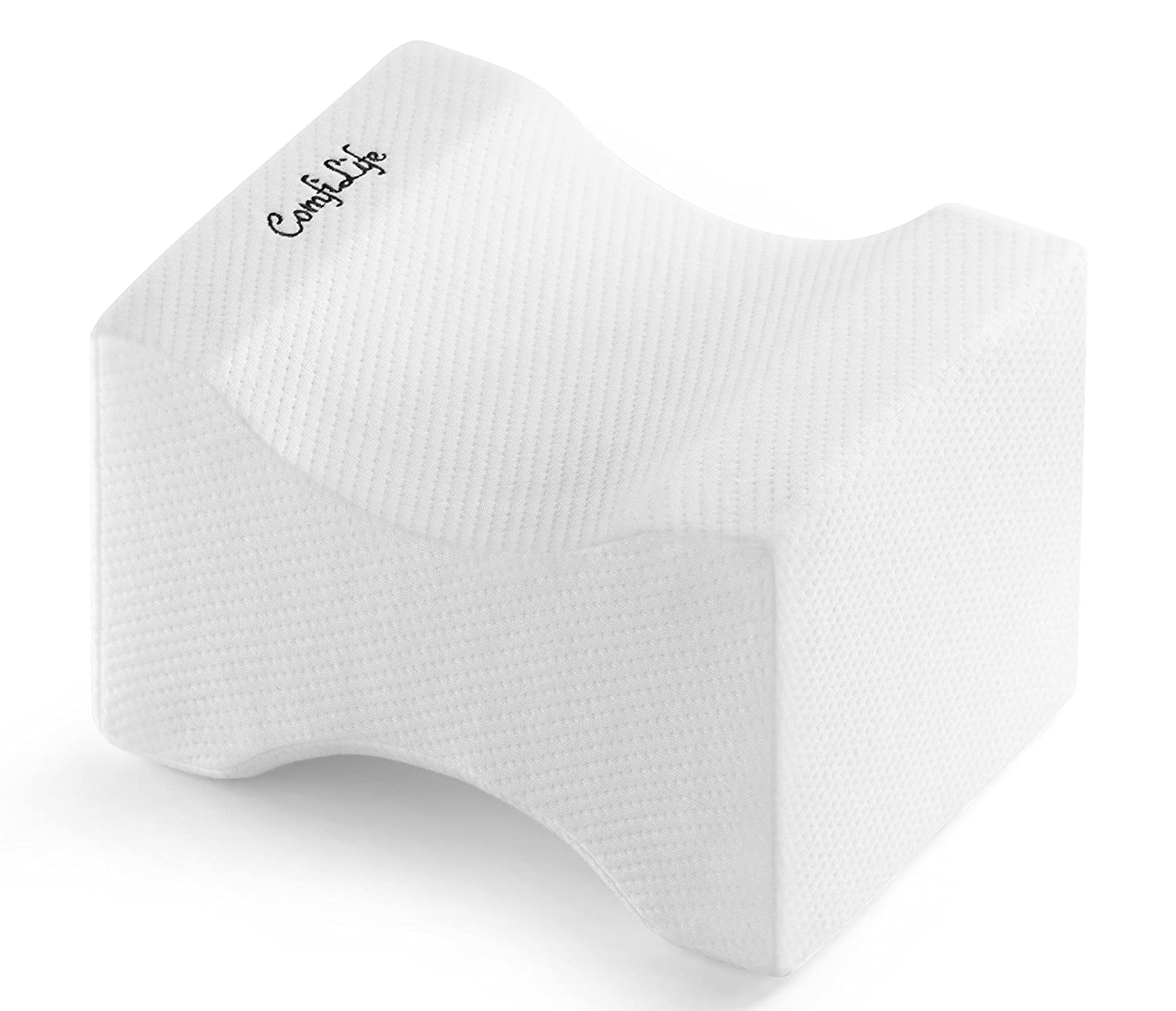 ComfiLife Orthopedic Knee Pillow for Sciatica Relief, Back Pain, Leg Pain