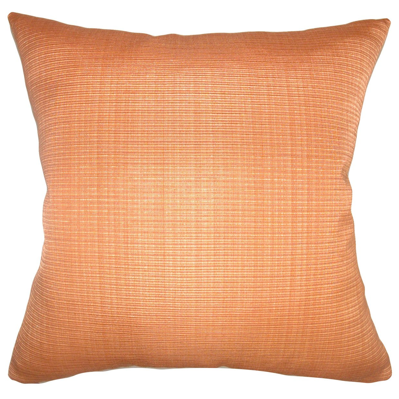 Orange The Pillow Collection Waer Plain Pillow