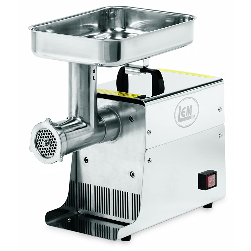 LEM Products .35 HP Stainless Steel Electric Meat Grinder