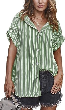 Spec4Y - Camisa de manga corta para mujer