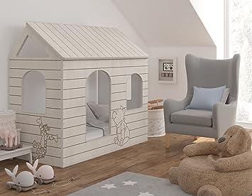 Kinderbett haus  Kinderbett Haus - Winnie Puuh, Original Disney - BBD Primea: Amazon ...