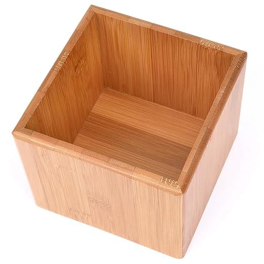 Gräwe - Caja de almacenamiento (bambú, sin divisores): Amazon.es ...