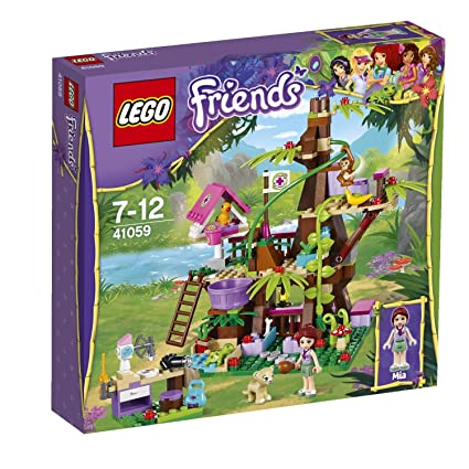 Amazon.com: LEGO Friends Jungle Tree Sanctuary 41059 by Unbranded ...