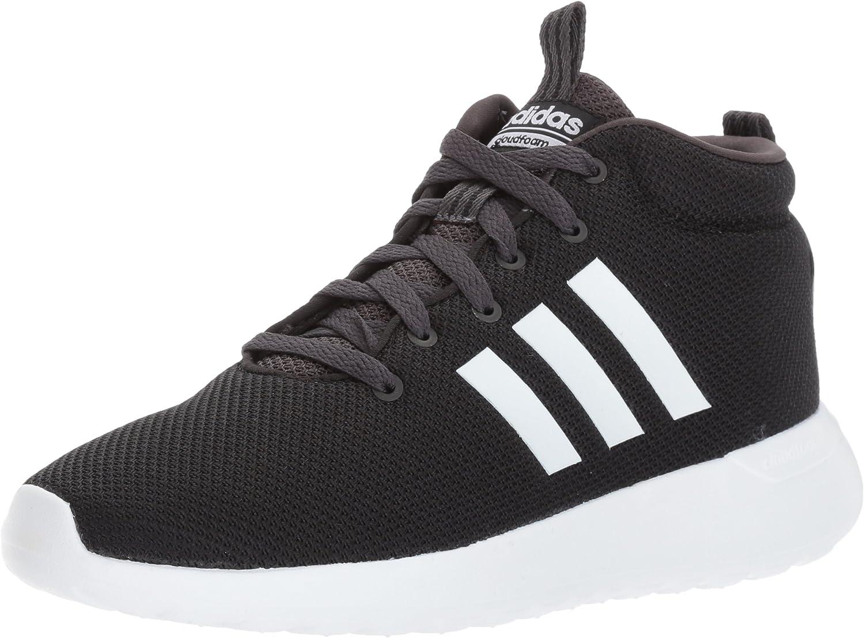 adidas Men's CF LITE Racer MID Running Shoe, White/Utility Black ...