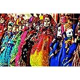 Ravishing Variety Wood and Cloth Rajasthani Puppet (Assorted)