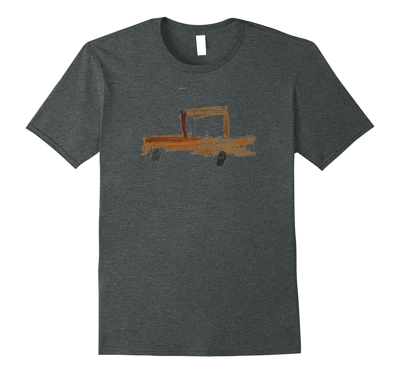 Alexander's Cool Hot Rod Truck - Kidz Drawing Shirt-ANZ
