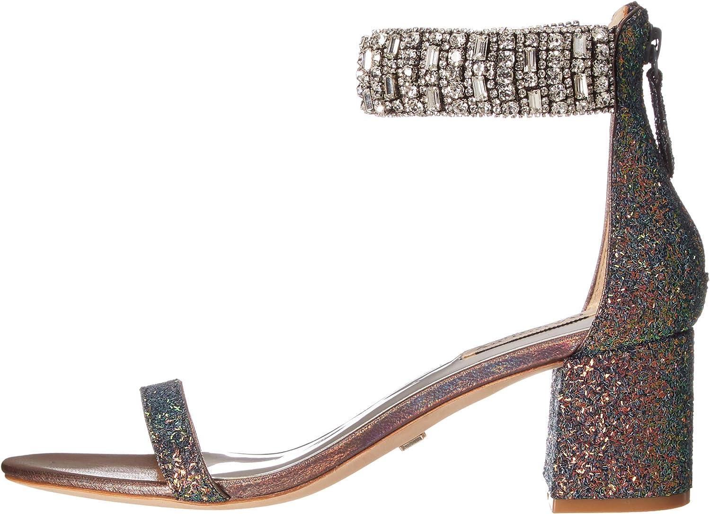 Badgley Mischka Womens Gallia Heeled Sandal
