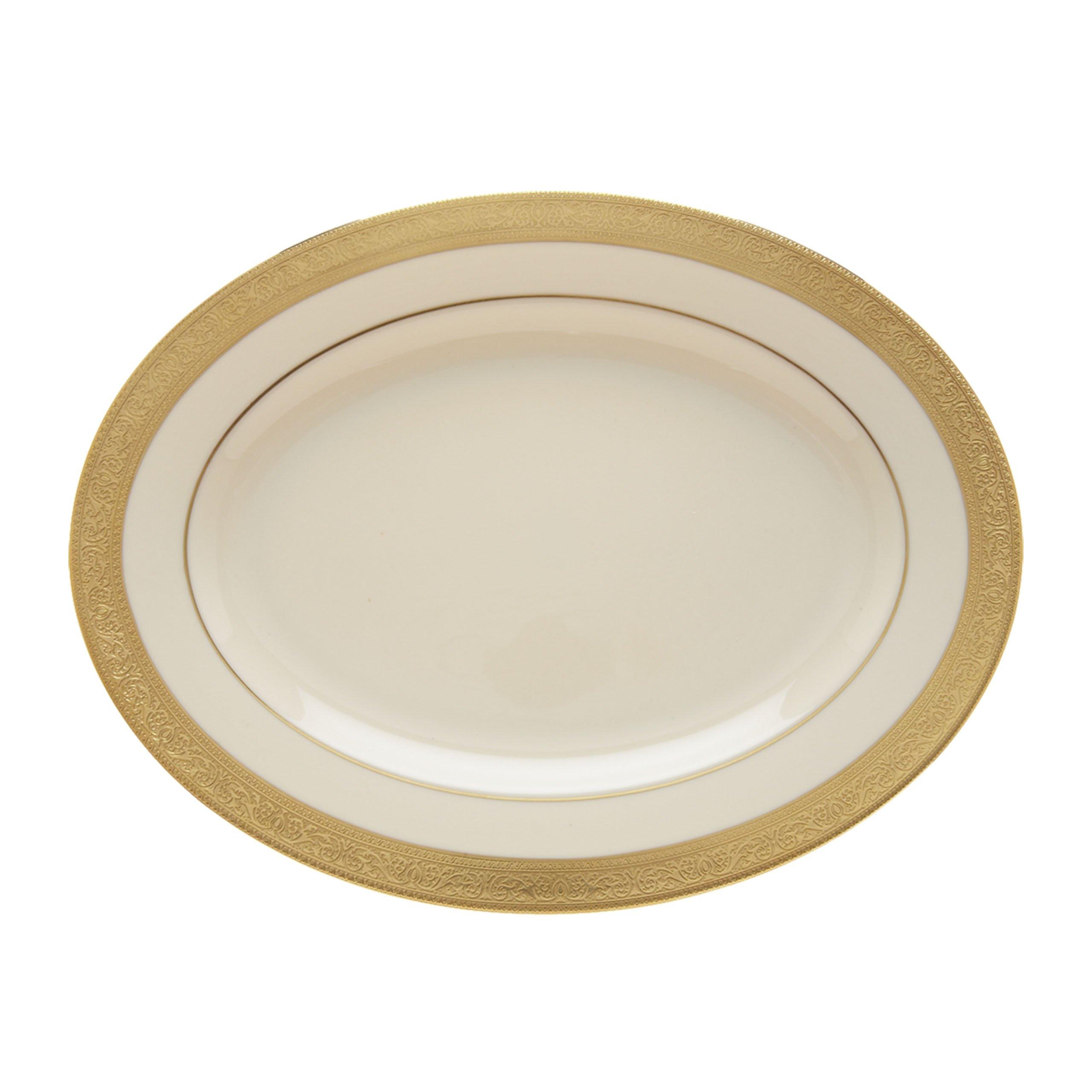 Lenox Westchester Oval Platter, 13-Inch