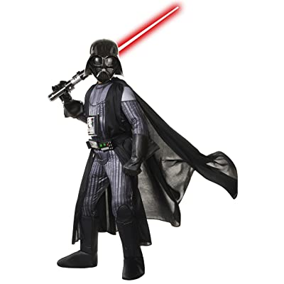Star Wars Child's Deluxe Darth Vader Costume, Large: Toys & Games