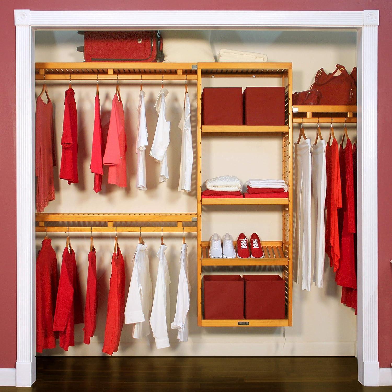 John Louis Home Simplicity Closet Organizer