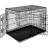 Hundkorg djurtransportlåda hundlåda, (XL) 92 x 58 x64 cm