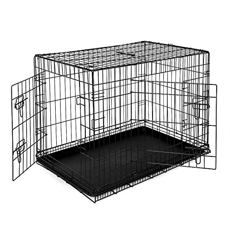 dibea DC00493, jaula de transporte para perros y animales pequeños ...