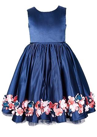 Dark Blue Girls Dresses