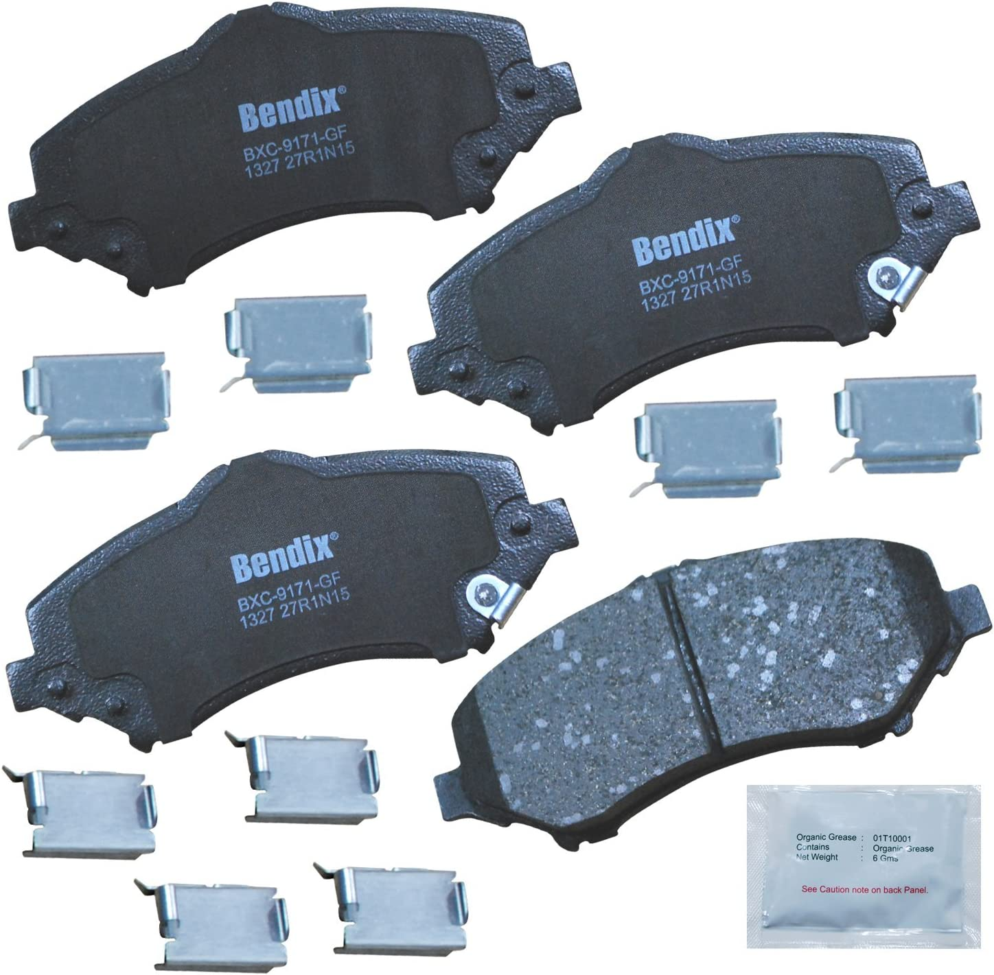 Bendix Premium Copper Free Ceramic Brake Pad