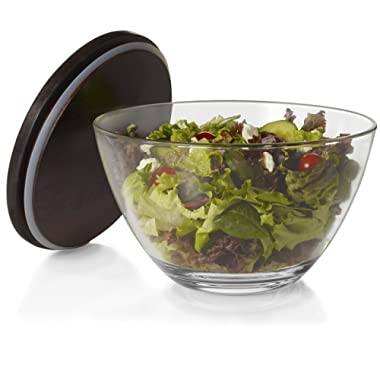 Libbey Urban Story Glass Bowl with Lid, Extra-Large