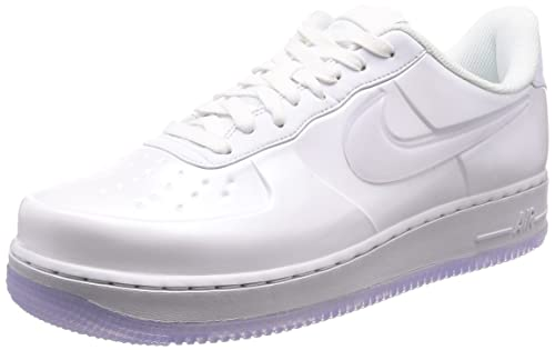 04a0266c44bf5 Nike Men  s Air Force 1 Foamposite Pro Cupsole Zapatero Triple Blanco