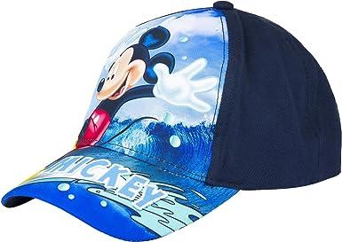 Mickey Mouse - Gorro - para niño Azul Marino 54 cm: Amazon.es ...