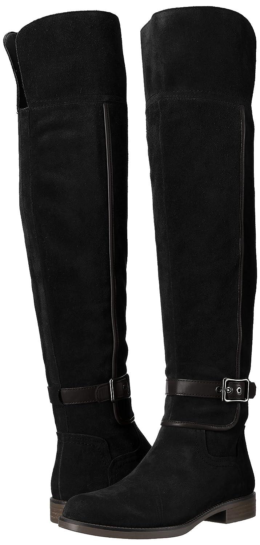 Franco Sarto Women's Crimson Over The Knee Boot B072BMRFCY 6 B(M) US|Black