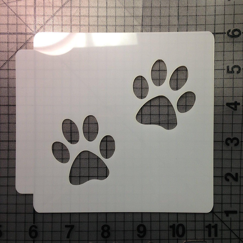 Paw Prints 783-061 Stencil (1 inches)