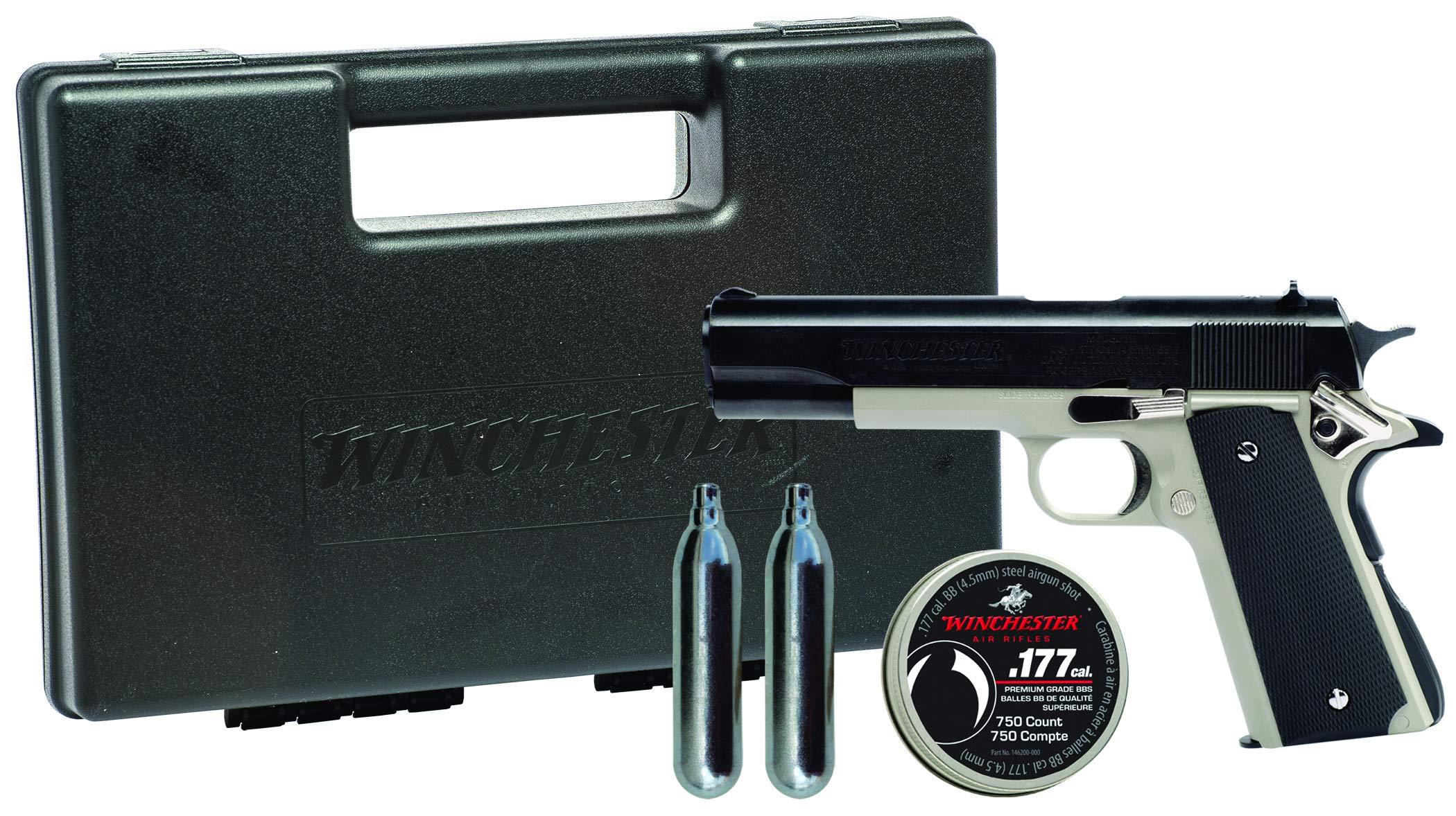 Winchester Model 11K Semi Auto Pistol Air Gun Kit by Winchester Air Rifles