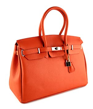Cuir Sac En Genuine Veritable Fabriqué À Italie Leather Main E2WHb9DYeI