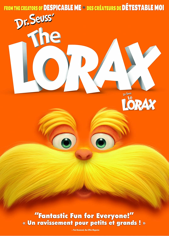 Dr. Seuss' The Lorax/ Dr. Seuss' Le Lorax (Bilingual) Danny DeVito Ed Helms Zac Efron Taylor Swift