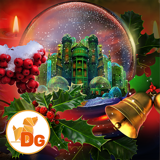 Word Search Games For Halloween (Hidden Objects - The Christmas Spirit: Trouble in)