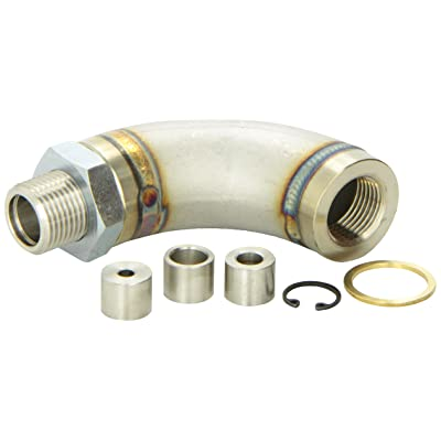 Vibrant 11619 J-Style Oxygen Sensor Restrictor Fitting with Adjustable Gas Flow Inserts: Automotive