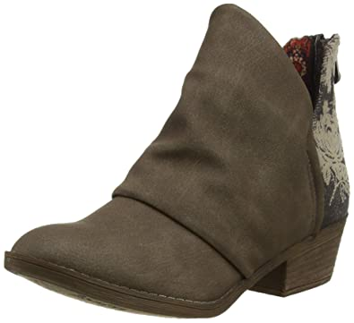 9abbb9434e7f Blowfish Women s Skirr-B Ankle Boots Beige (Mushroom Rustic Pewter Android  617)