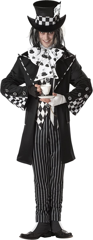California Costumes 01101 - Disfraz de Sombrerero loco oscuro para ...
