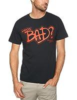 Michael Jackson Who's Bad Black Mens T-shirt