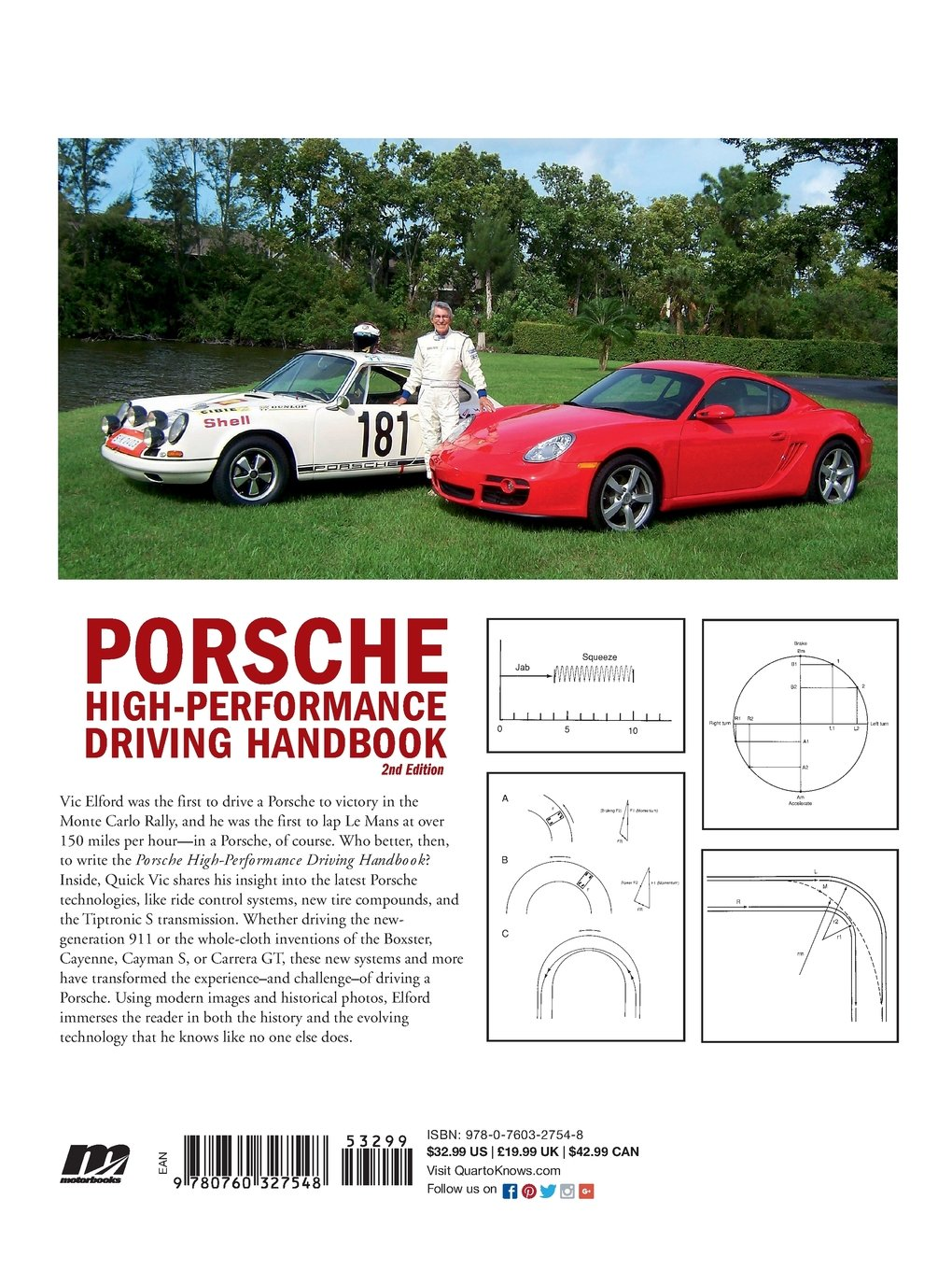 Porsche High Performance Driving Handbook Vic Elford 2nd Generation Firebird 8 Track Wiring Diagram 0752748327542 Books
