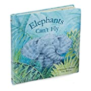 Jellycat Elephants Can't Fly, 9 inches x 9 inches