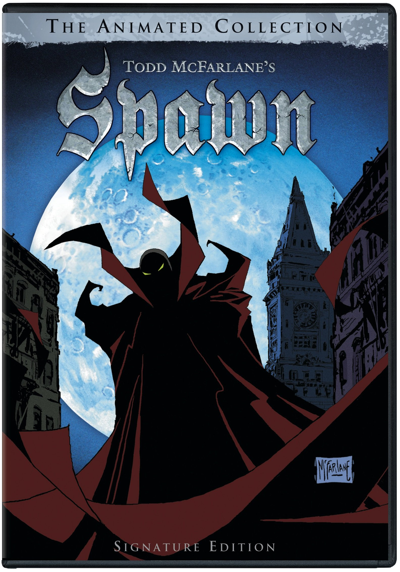 DVD : Todd McFarlane's Spawn: The Animated Collection (Full Frame, Remastered, Boxed Set, Digital Theater System, AC-3)