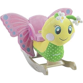 Rockabye Flutter Butterfly Rocker Ride On