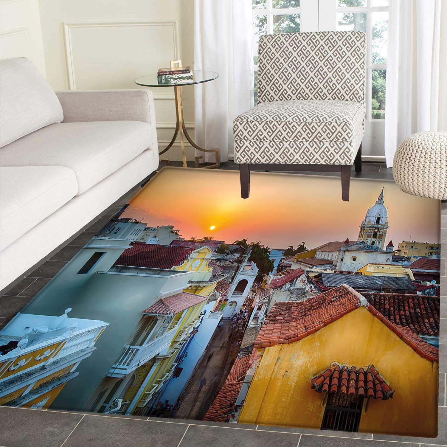 Amazon.com: Sunset Customize Floor mats for home Mat View ...