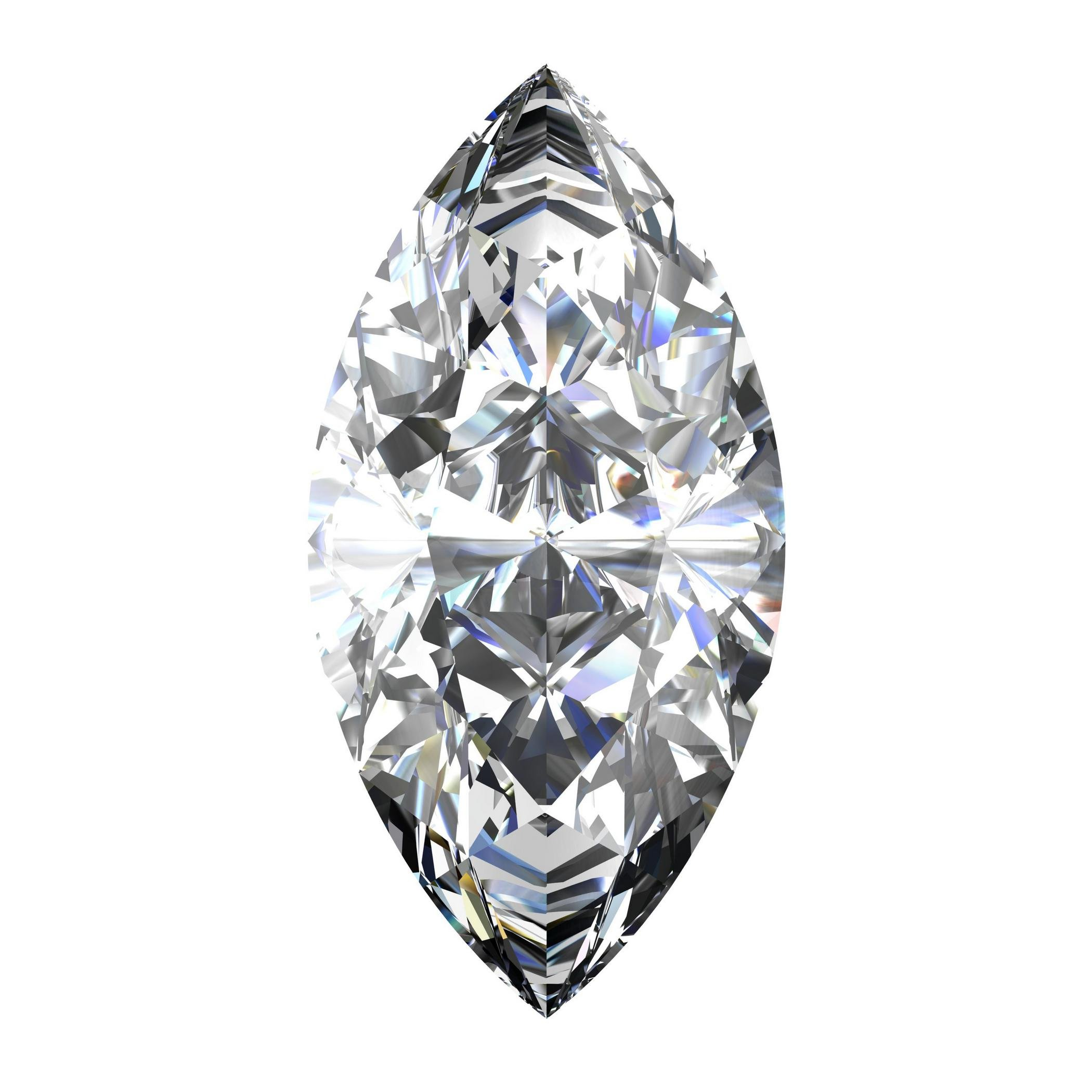 GIA Certified Natural 1.01 Carat Marquise Diamond with D Color & VS1 Clarity