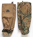This hunting gifts image shows turtleskin snake gaiters.