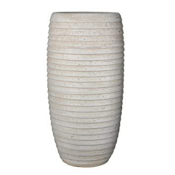 Mica Decorations 143419 Vase Lloyd 28 X 28 X 55 Cm Beige Amazon