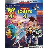 Toy Story 4 [Blu-ray + DVD + Digital] (Bilingual)