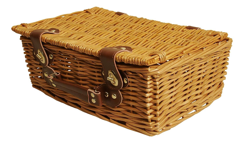 "Wald Imports 13/"" Picnic Basket"