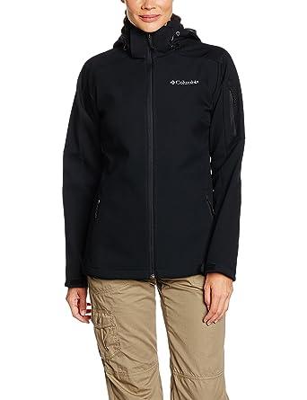 Columbia 1685381 Chaqueta Softshell Cortavientos para Mujer, Cascade Ridge Jacket